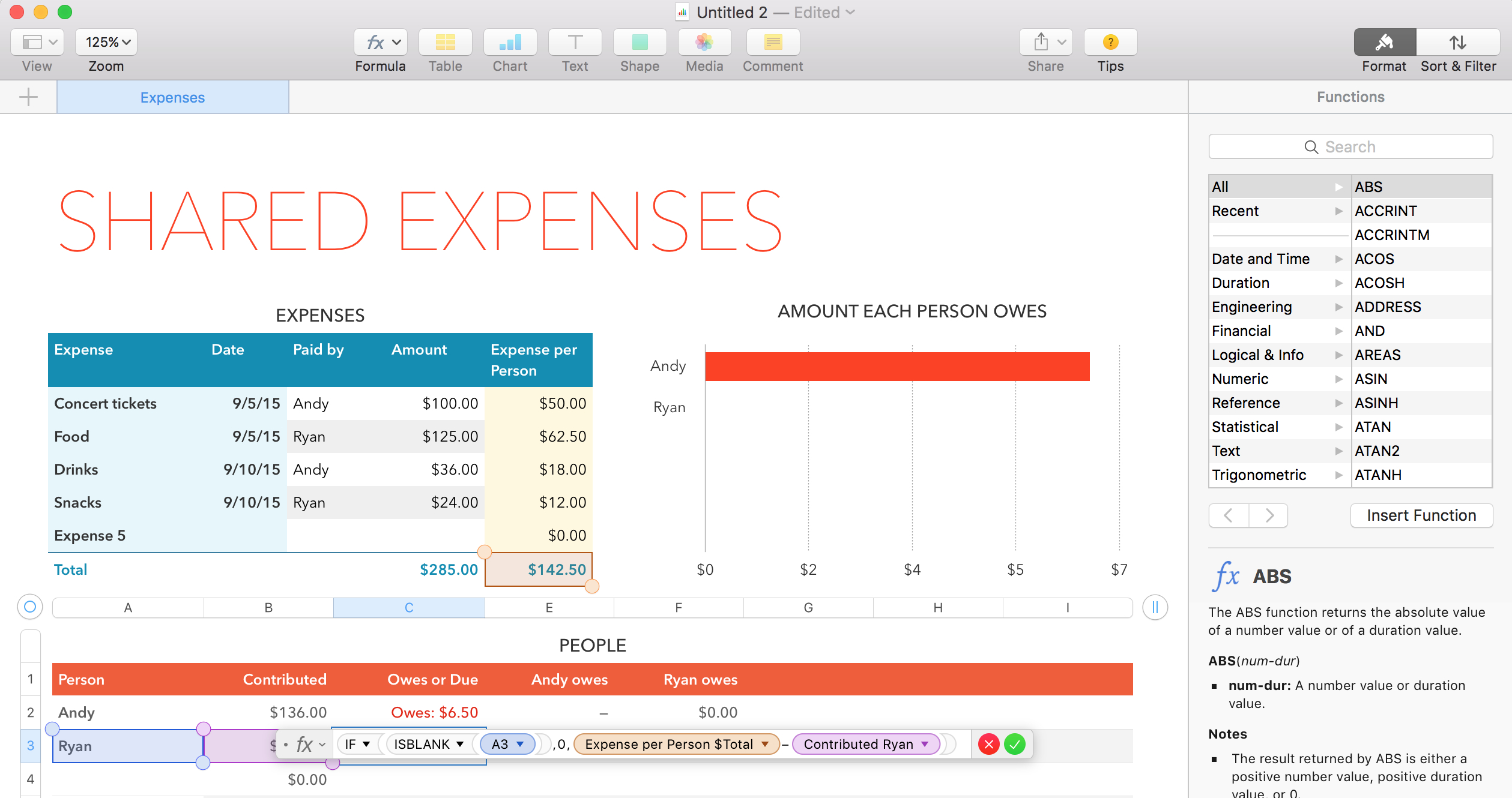Spreadsheet For Mac With Regard To From Visicalc To Google Sheets: The 12 Best Spreadsheet Apps