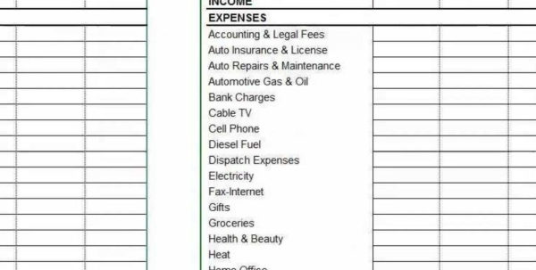 Spreadsheet For Truckers Intended For Accounting Software For Usa Truckers For Up To 10 Trucks  Youtube