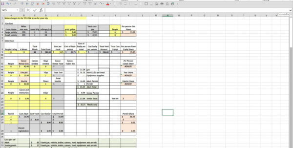 spreadsheet for trucking company 1 spreadsheet downloa