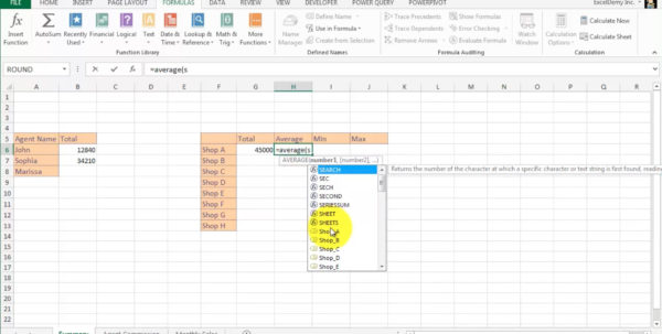 Spreadsheet Formulas And Functions Inside Excel Formulas And Functions: Make Basic  Advanced Formulas  Udemy
