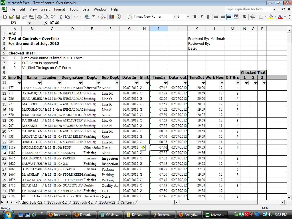 Spreadsheet Formulas For Excel Spreadsheet For Payroll Or Formulas With Hours Plus Taxes