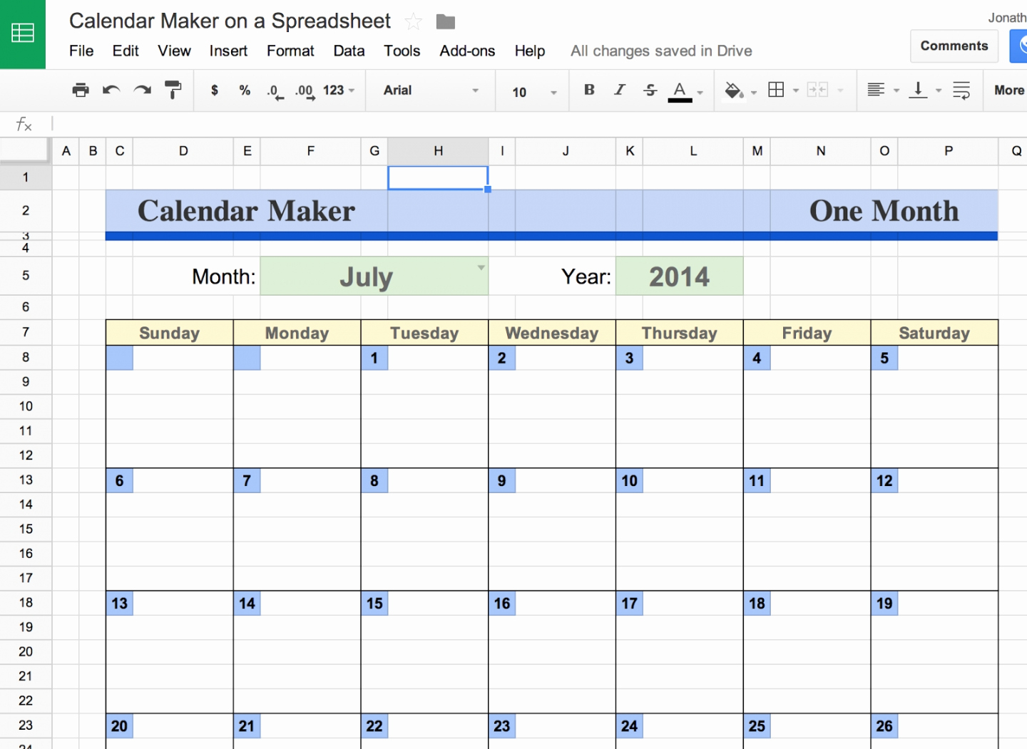 Spreadsheet Functions With Google Docs Online Documents Spreadsheets Of Google Docs Spreadsheet