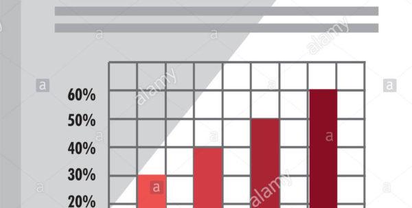 Spreadsheet Graphics Regarding Spreadsheet With Statistics Graphics Icon Stock Vector Art