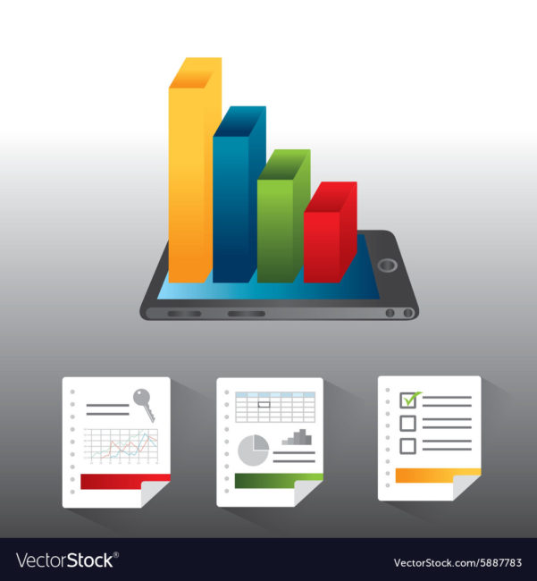 Spreadsheet Graphics With Regard To Spreadsheet Design Royalty Free Vector Image  Vectorstock