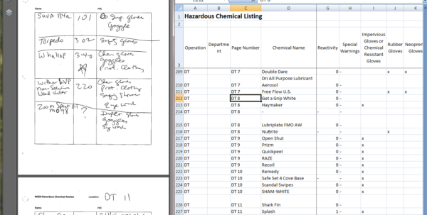 Spreadsheet Guru Within Handwritten Notes To Spreadsheetcjcp 126704  Freelancer On Guru