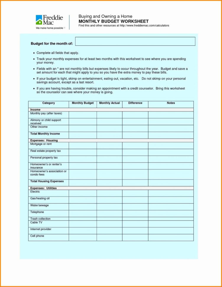 Spreadsheet Ideas For Students Pertaining To Weekly Budget Worksheet Photos Ideas Free Printable Monthly Detailed
