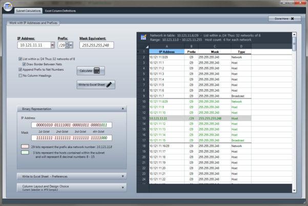 Spreadsheet Ip Address Management Regarding Check The Network  Ip Tools For Excel Addin / Plugin