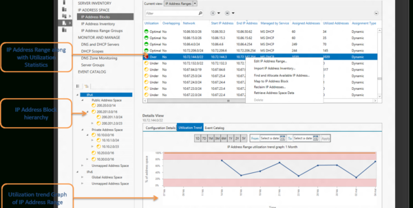 Spreadsheet Ip Address Management With Holistic Administration Of Ip Address Space Using Windows Server