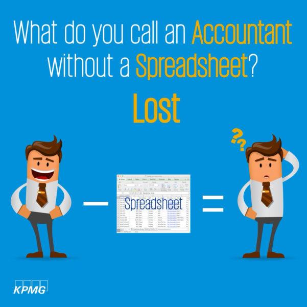 "Spreadsheet Jokes Inside Kpmg Jordan On Twitter: ""great Day! #accountant #jokes: What Do You"