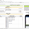 Spreadsheet Keywords In How To Do Keyword Optimization For The Google Play Store [Howto Video]