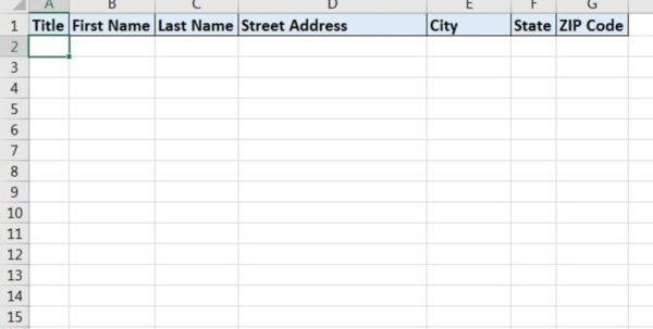 Spreadsheet Labels Throughout How To Print Labels From Excel