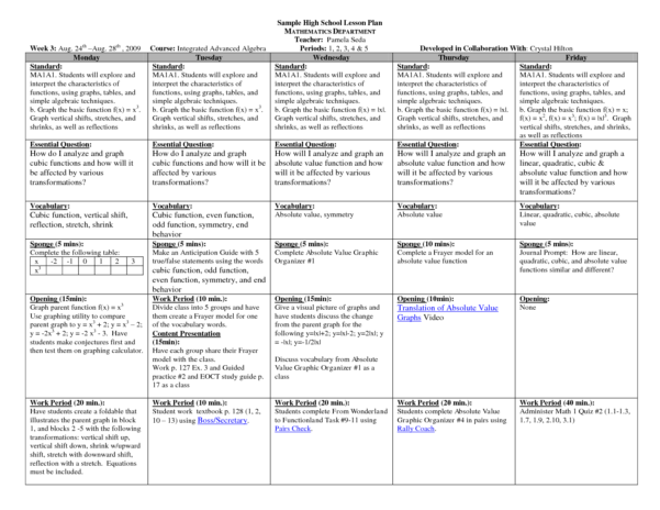 Spreadsheet Lesson Plans For Elementary Inside Spreadsheet This Template Provides Weekly For Managing Multiple