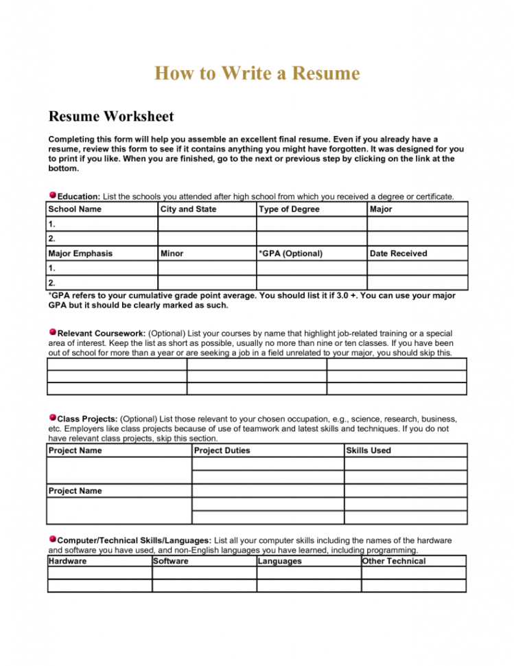 Spreadsheet Lesson Plans With Regard To Spreadsheet Lesson Plans For High School Resume Worksheet Using Your