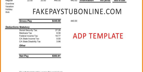 Spreadsheet Login Throughout Blank Adp Pay Stub Template Filename Down Town Ken More Ipay