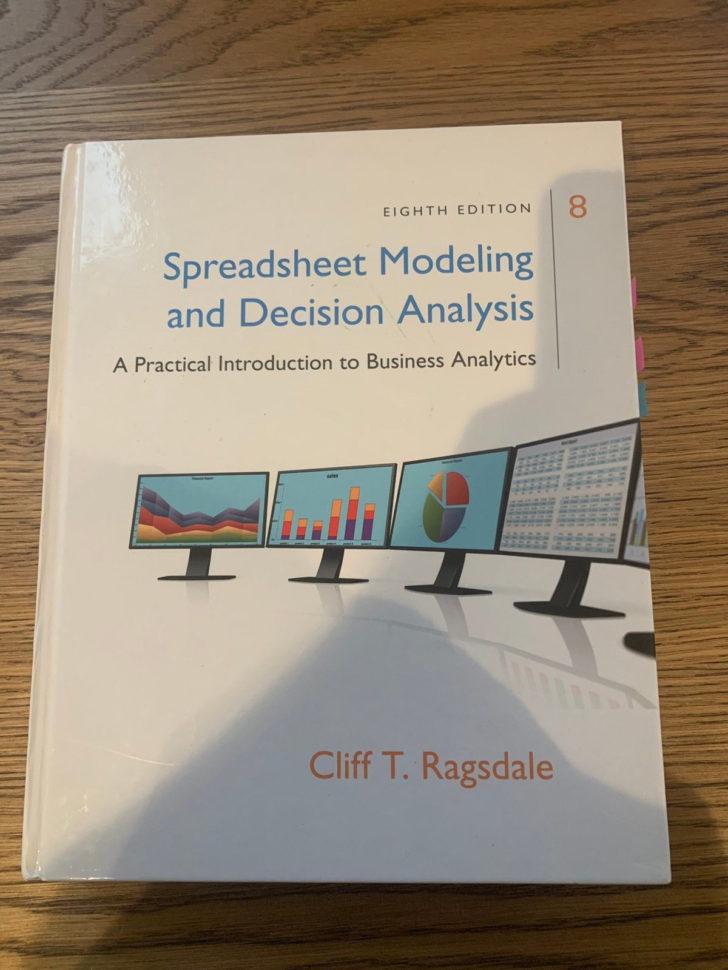 Spreadsheet Modeling & Decision Analysis 8Th Edition Intended For Spreadsheet Modeling  Decision Analysis Selges  Finn.no