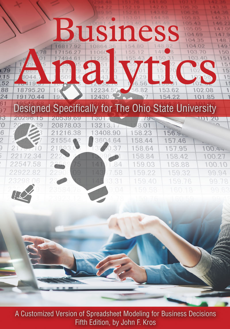 Spreadsheet Modeling And Decision Analysis 6Th Edition Pdf With Regard To Business Analytics: A Customized Version Of Spreadsheet Modeling For