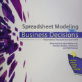 Spreadsheet Modeling And Decision Analysis Ebook For Spreadsheet Modeling For Business Decisions 5Th Edition Ebook 3Rd