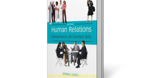 Spreadsheet Modeling And Decision Analysis Solutions Manual Free Regarding Solution Manual And Test Bank For Human Relations: Interpersonal Job