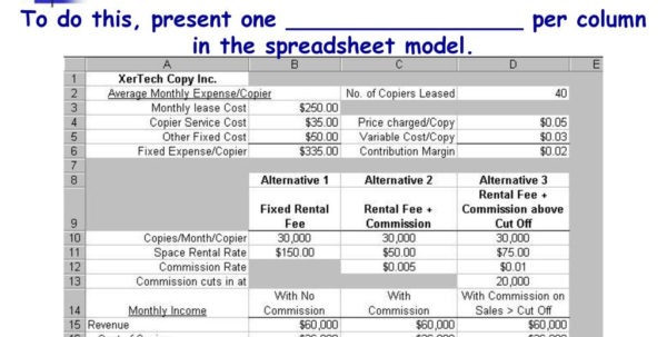 Spreadsheet Modeling Pertaining To Prentice Hall Publishers And  Ppt Download
