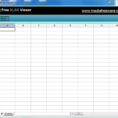 Spreadsheet Opener For Free Xlsx Viewer  Download