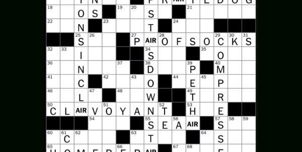 Spreadsheet Part Crossword For How To Solve The New York Times Crossword  Crossword Guides  The