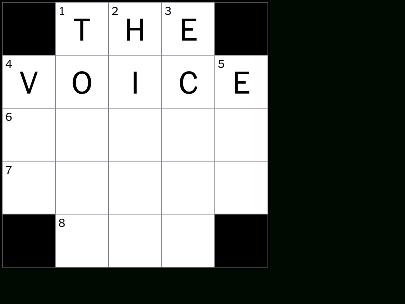 Spreadsheet Part Crossword Regarding How To Solve The New York Times Crossword  Crossword Guides  The