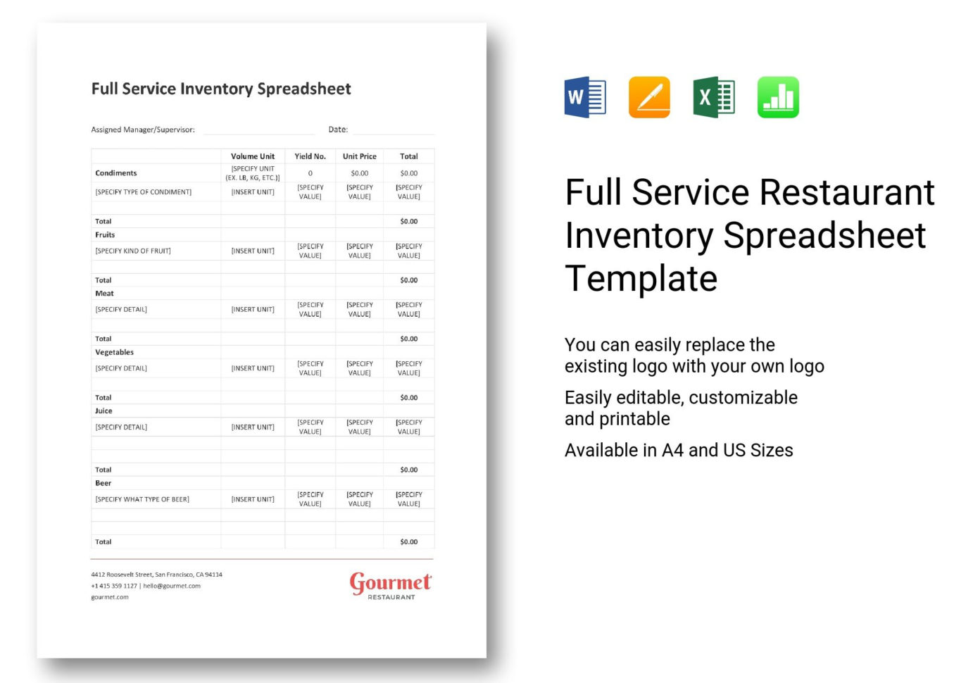 Spreadsheet Pdf Download Intended For Restaurant Inventory Spreadsheet Pdf Xls Bar Wine Invoice Template