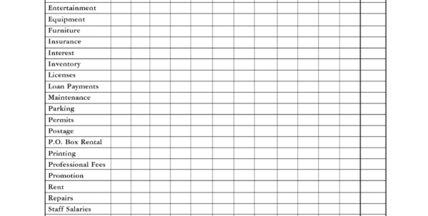 Spreadsheet Pdf With Regard To 015 Monthly Business Expenselate Spreadsheet Pdf Income And Ideas