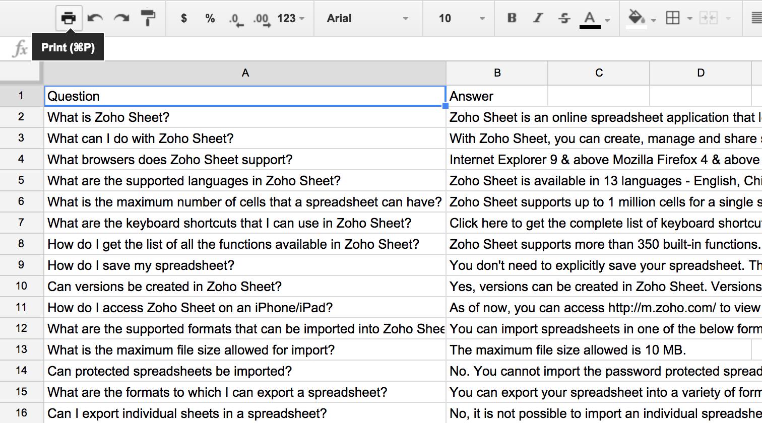 Spreadsheet Programming Tutorial Regarding Blockspring Tutorials – Build A Q A Bot Using A Spreadsheet