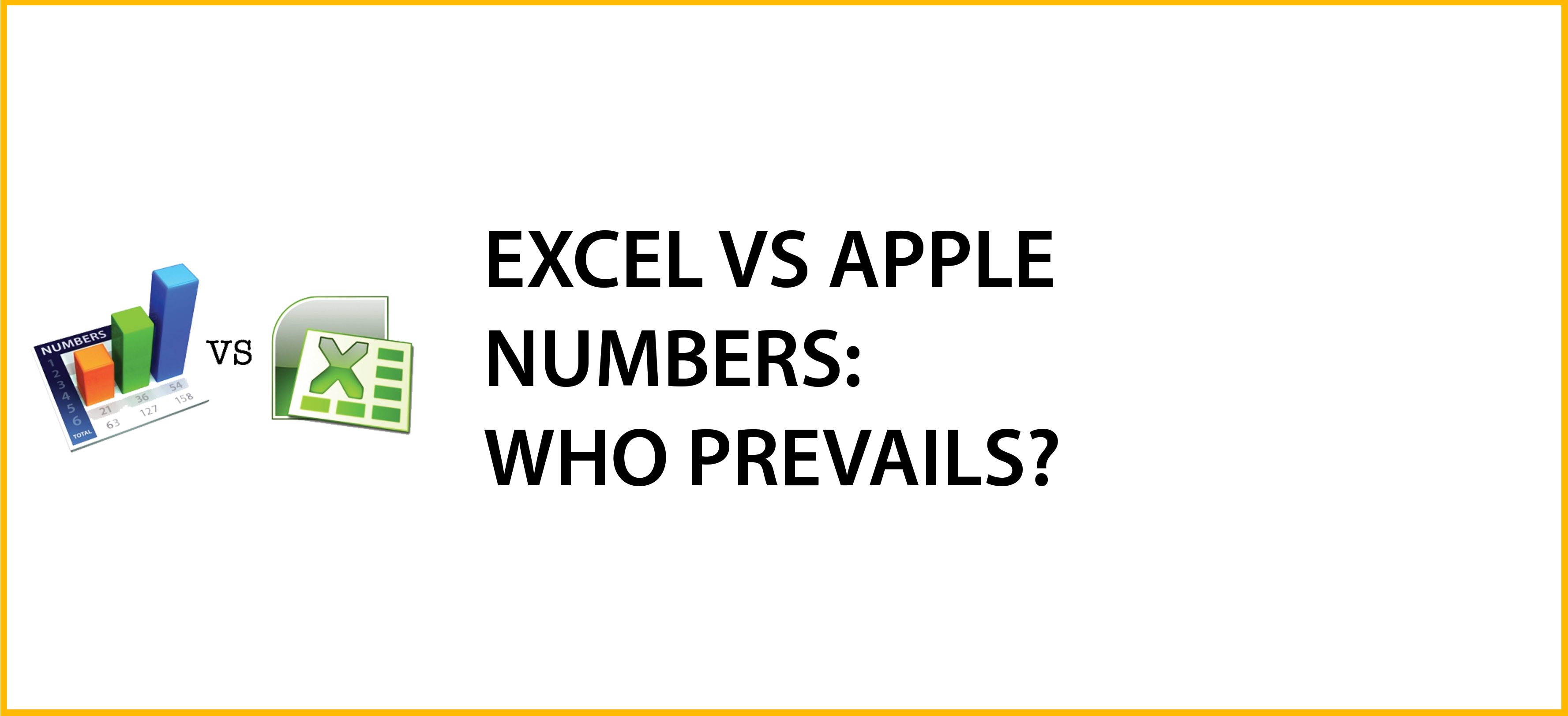 Spreadsheet Programs Other Than Excel For Microsoft Excel Versus Apple's Numbers: Who Prevails?  Excel With