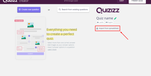 Spreadsheet Quiz Pertaining To Importing A Quiz From A Spreadsheet – Help Center