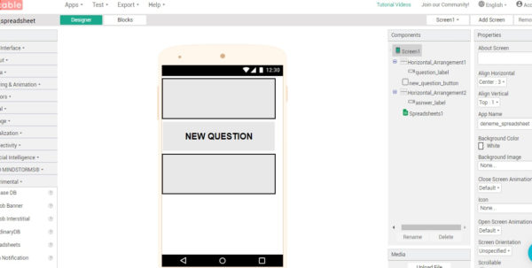 Spreadsheet Quiz With Quiz App With Spreadsheets. I Need Help  #thunkableclassicdiscuss