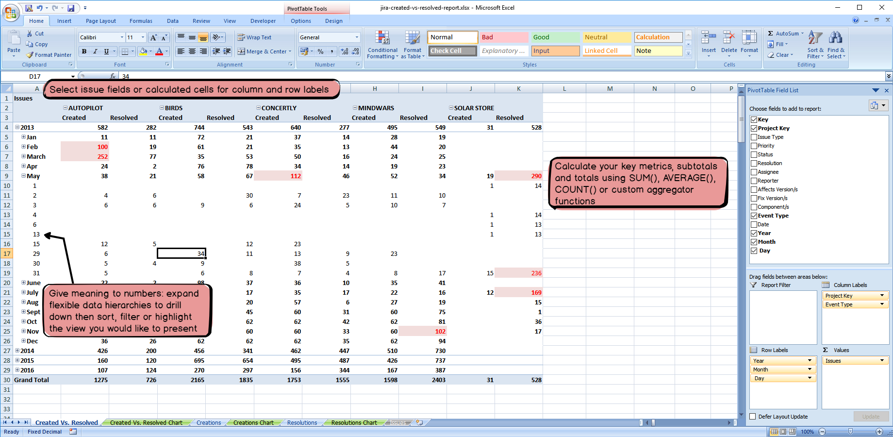 Spreadsheet Report Generator Pertaining To Better Excel Exporter For Jira Xlsx  Atlassian Marketplace