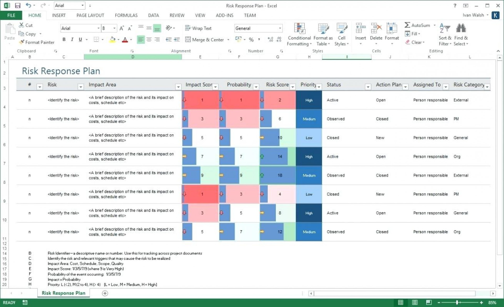 Forex risk management xls