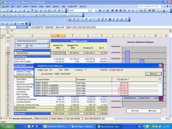 Spreadsheet Server Cost For Oracle Jd Edwards / Peoplesoft  Spreadsheet Server Reports