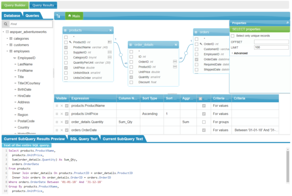 Spreadsheet Server Query Designer For Visual Sql Query Builder To Get Data In Seconds!