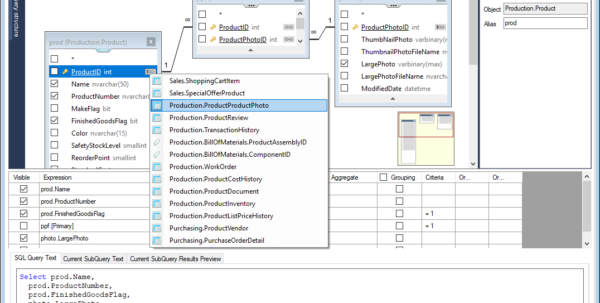Spreadsheet Server Query Designer In Visual Sql Query Builder To Get Data In Seconds!