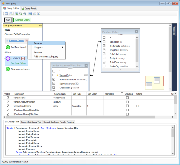 Spreadsheet Server Query Designer With Visual Sql Query Builder To Get Data In Seconds!