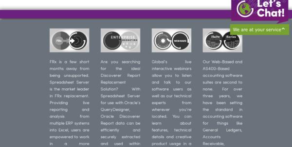 Spreadsheet Server Query Designer Within Owler Reports  Globalsoftware: Spreadsheet Server