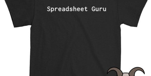 Spreadsheet Shirts Intended For Spreadsheet Guru Shirt Tech Shirt Technology Shirt Funny  Etsy