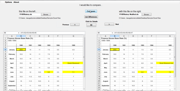 Spreadsheet Software Comparison With Regard To Compare Excel Spreadsheets Without Office  Compare Excel Files From