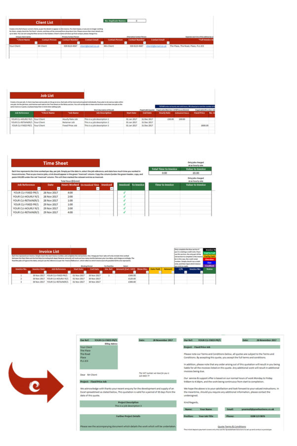 Spreadsheet Solutions Pertaining To Types Of Solutions  Spreadsheet Solutions