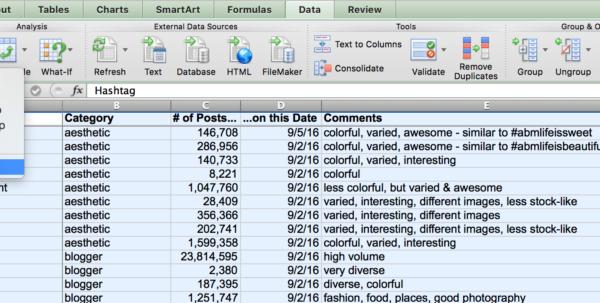 Spreadsheet Sort With Regard To Hashtag Organizer Custom Sort Excel 14  The Spreadsheet Alchemist
