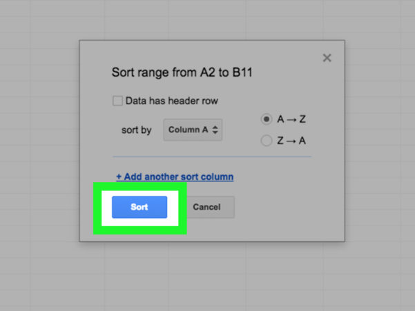 Spreadsheet Sort With Regard To How To Sortmultiple Columns In Google Spreadsheets: 7 Steps