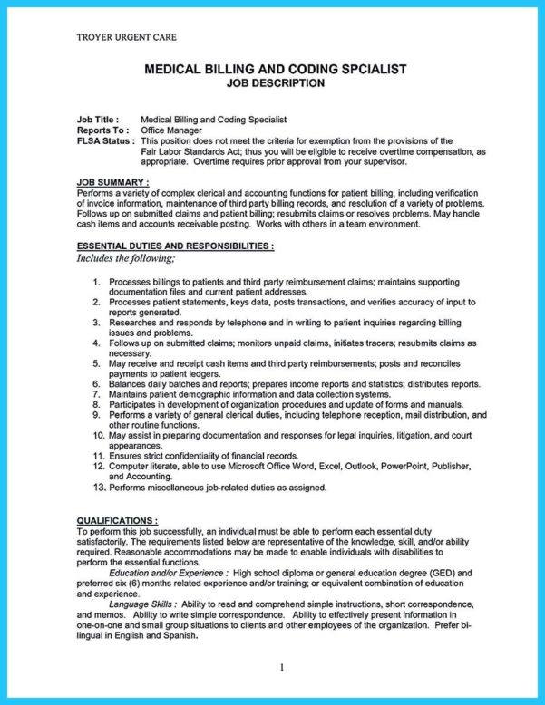 spreadsheet specialist job description printable