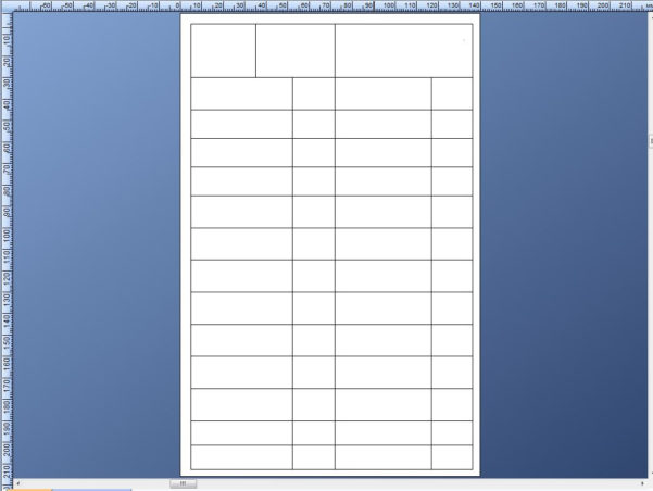 Spreadsheet Table Pertaining To Create A Spreadsheet/table On A Template – Bartender Support Portal