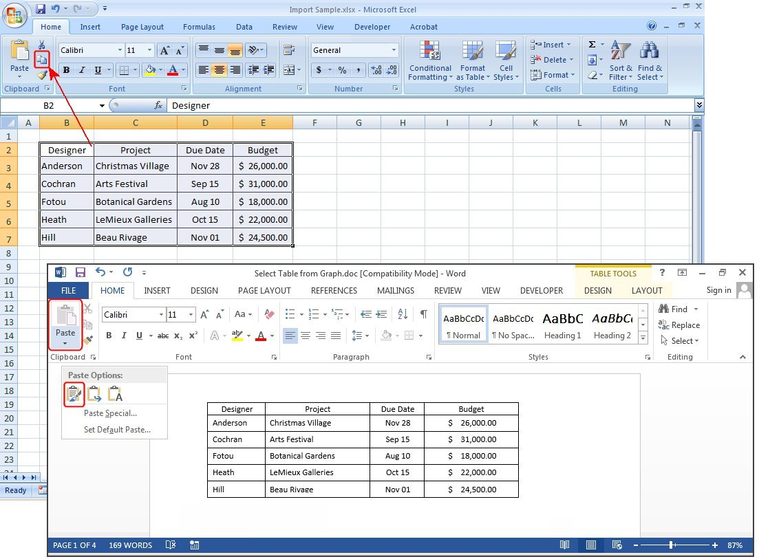 Spreadsheet Table With How To Create Tables In Microsoft Word  Pcworld