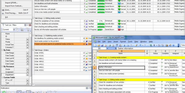 Spreadsheet Tasks In Business Spreadsheet Solutions  Managing Tasks And Performing