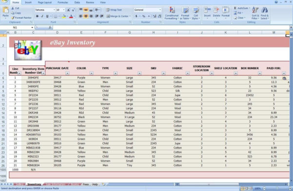Spreadsheet Template For Inventory Within Jewelry Inventory Spreadsheet Template As Debt Snowball Spreadsheet