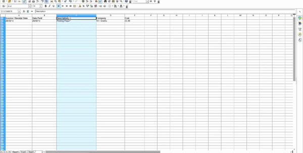 Spreadsheet Template For Small Business Regarding Spreadsheet Templates Excel For Small Business Invoice Forms